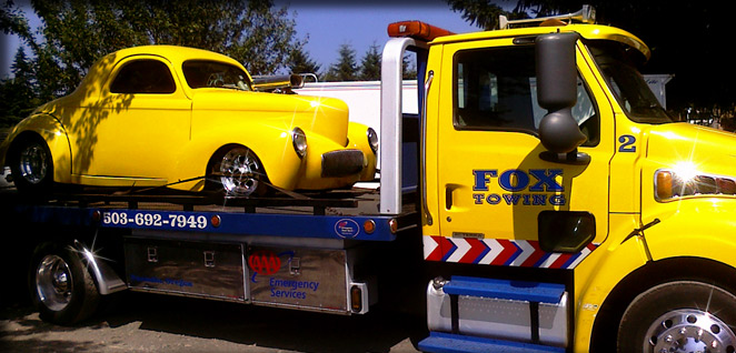 Tualatin Towing, Beaverton Towing, Fox Towing, Roadside Assistance